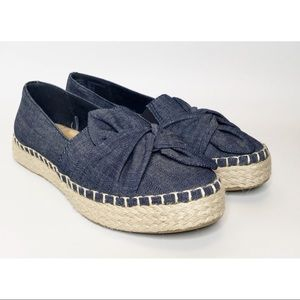 Boundless by Dr Scholl's Denim Jute Espadrille 7